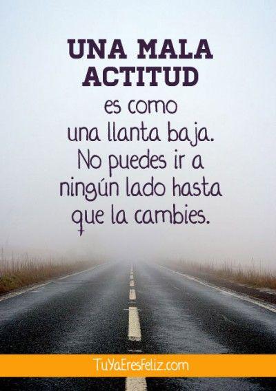 La Actitud es la clave www.tuyaeresfeliz.com