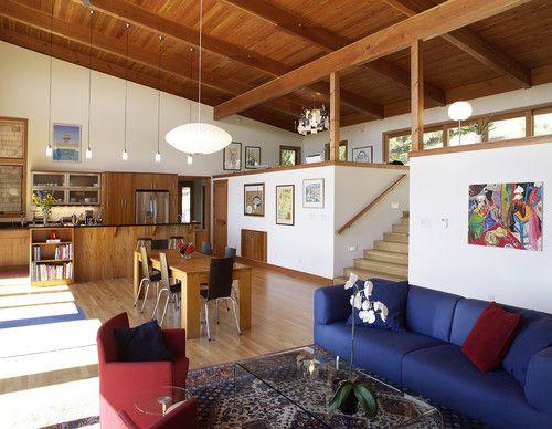 Fox Hollow Residence contemporary living room