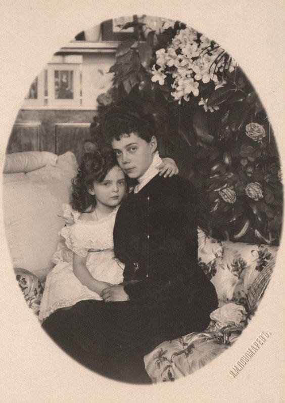 Princess Irina with her mother Grand Duchess Xenia  http://kantor.forum24.ru/