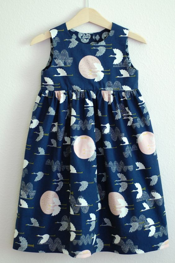 Best pattern yet for dress for Molly What a pretty little girls dress this is . . . #inspiration #sewing #patterncutting
