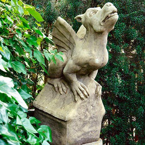 Gargoyle garden statues decorations for the garden for Gargoyle decor