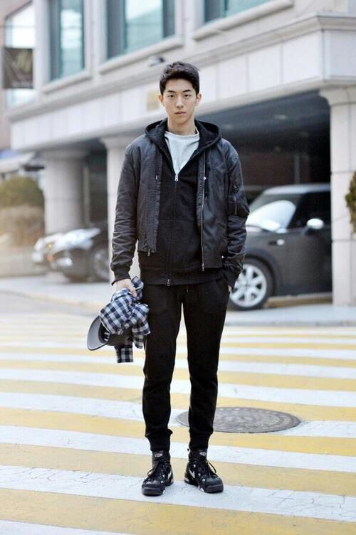 Korean Actors Men Street Styles And Men Street On Pinterest