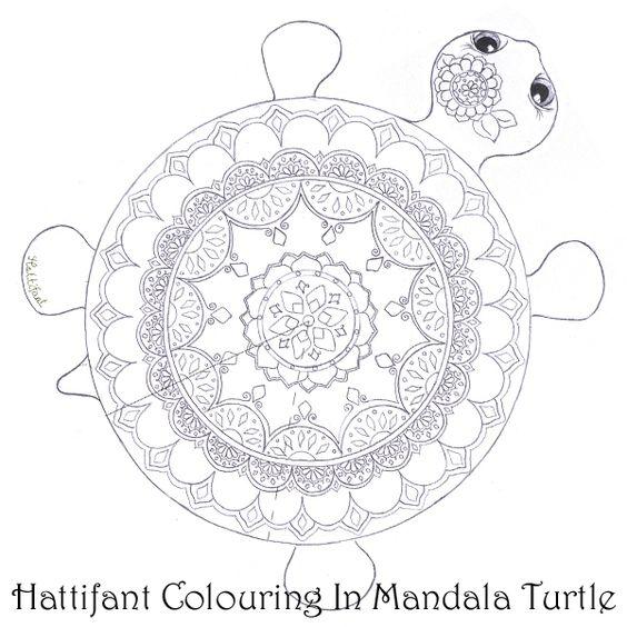 Mandalas Turtles and Colouring