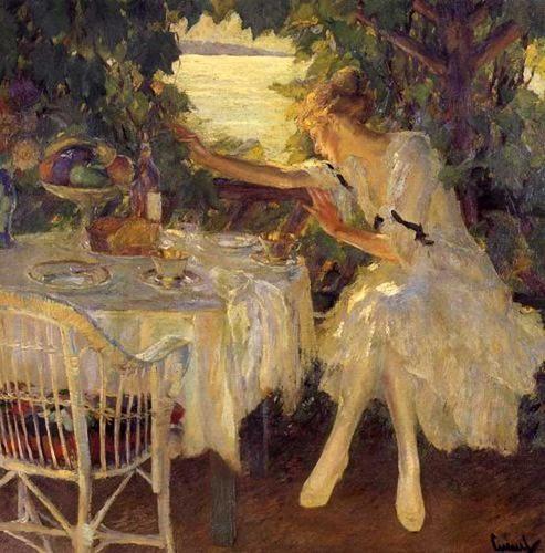 Edward Cucuel -The Breakfast