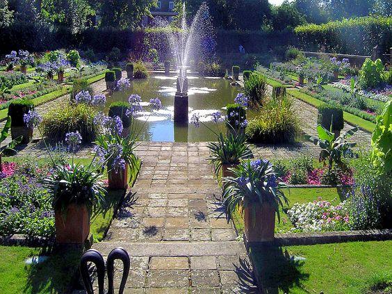 Kensington Gardens London | Bild zu Kensington Gardens in London Kensington Gardens