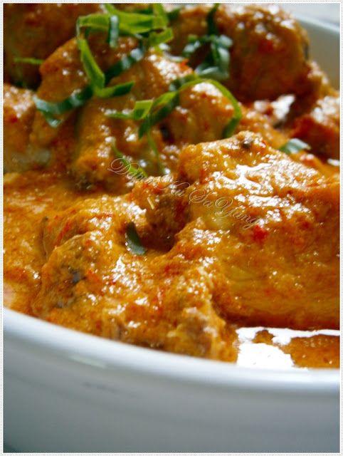 Dapurku Sayang Ayam Masak Padang Cooking Recipes Malaysian Food Recipes