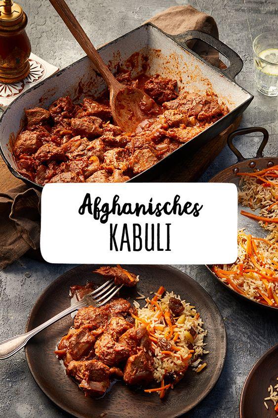 Afghanisches Kabuli Afghanisches Rezept Rezepte Orientalische Rezepte