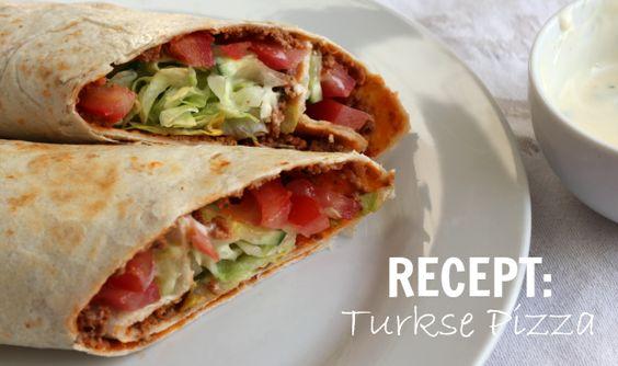 Turkse pizza! - Turkish pizza It's delicous! {Al heel vaak gemaakt, is echt toprecept!}