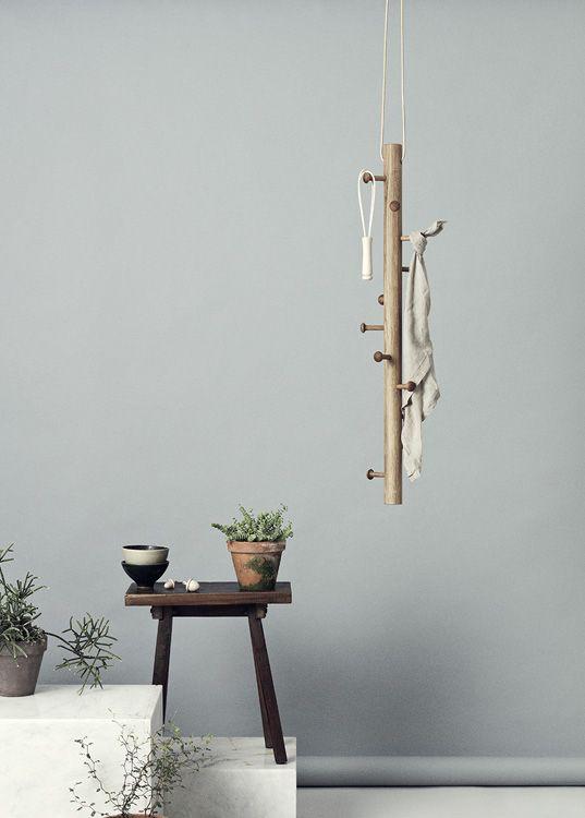 Copenhanger Hangende Design Garderobe Aus Holz Garderobe Holz