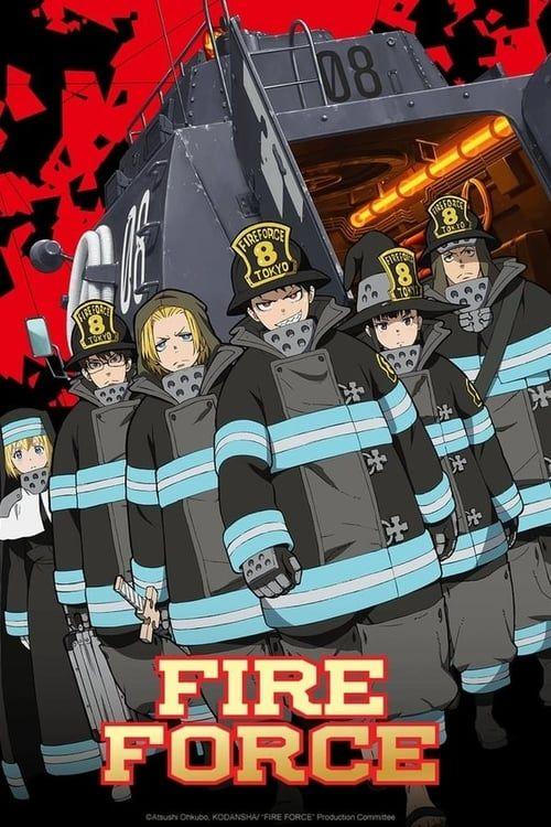 Fire Force Ep 15 Vostfr : force, vostfr, Force:, Season, Brigade,, Shinra, Kusakabe,, Force