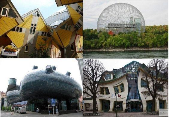17 самых необычных архитектурных построек