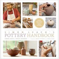 Pottery Handbook Leach Presents clear turorials on throwing, trimming, glazing, and firing. For each technique, detailed step-by-step photography captures the intricate movements that typically fly by too fast to be learned when watching a video; callouts lead readers to the relevant video on the DVD. 240 pages, paperback with 240 minute DVD.