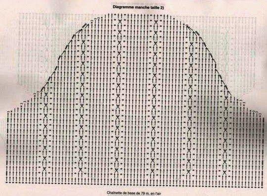 crochelinhasagulhas: Vestido de crochê com leques em crochê