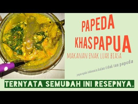Masakan Nusantara Resep Dan Cara Membuat Papeda Khas Papua Youtube Di 2020 Masakan Resep Masakan Indonesia