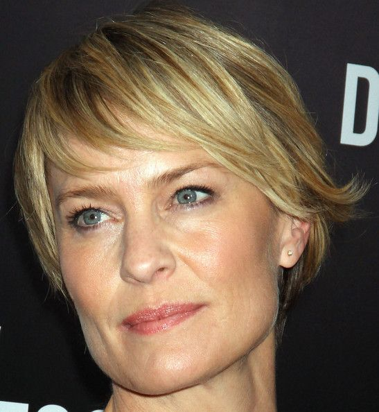 Robin Wright Haircut: A Well, Robins And Cute Bangs On Pinterest