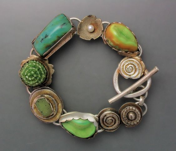 Green Envy bracelet from Temi Kucinski on etsy.com