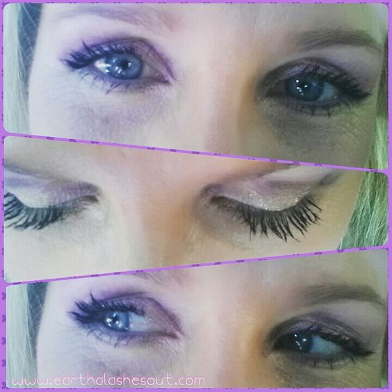 I have tiny lashes but you'd never know it! 3D Fiber Lash mascara! Game changer!!! www.earthalashesout.com  #longlashes #mascaradidthis #lashlife