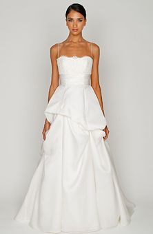 Brides Magazine: Bliss by Monique Lhuillier : Style No. BL1207 : Wedding Dresses Gallery