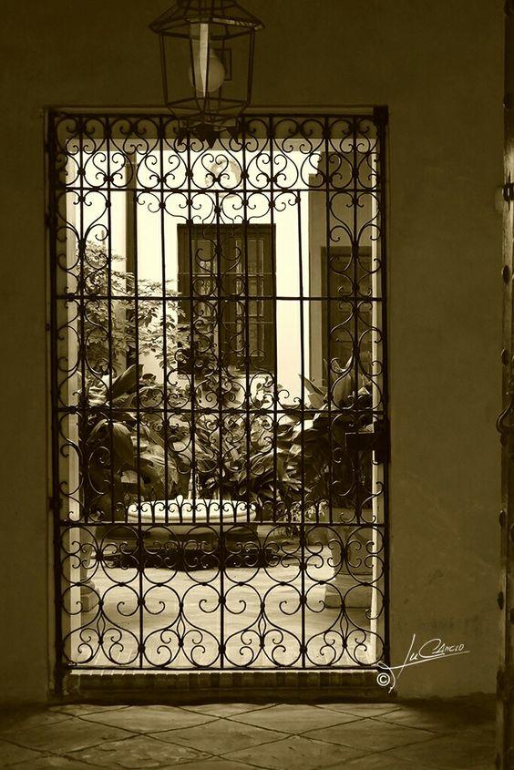 Patio de casa en Sevilla
