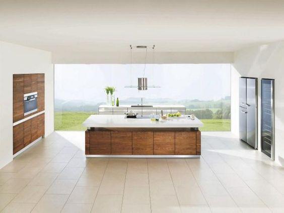 Moderne Küche Mit Oberfläche Metal X | Küchen Ideen U0026 Bilder | Pinterest