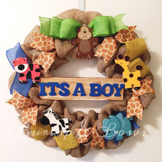 baby wreath baby announcement wreath babies baby shower wreaths