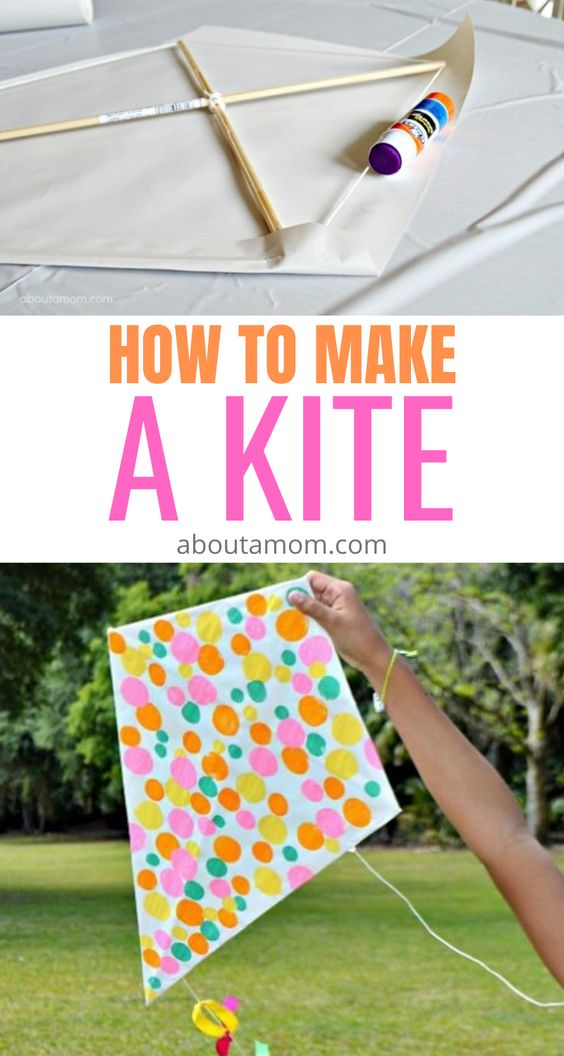 Spring is near. If you've ever wondered how to make a kite, it is really quite easy. Making a DIY kite with your kids is a fun and rewarding learning experience. It's a fantastic springtime activity to get the kids outdoors.