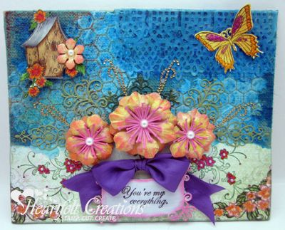 Heartfelt Creations | Arianna Blooms Canvas