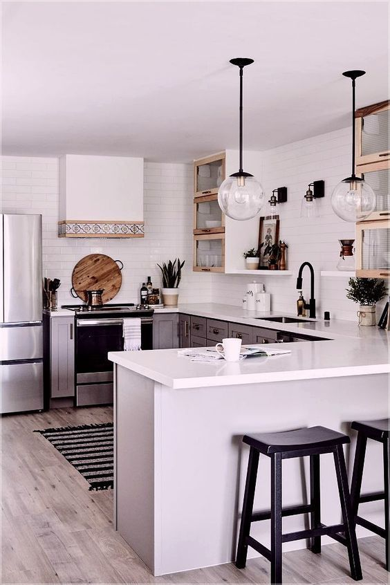 Effortlessly Clean Easily Stylish Exceptionally Made Complete Your Kitchen With The Vigo Greenwich Pul Kitchen Design Square Kitchen Layout Square Kitchen