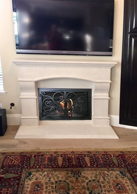 Pin By Gia Moncivaiz On Ion Know Fireplace Doors Fireplace