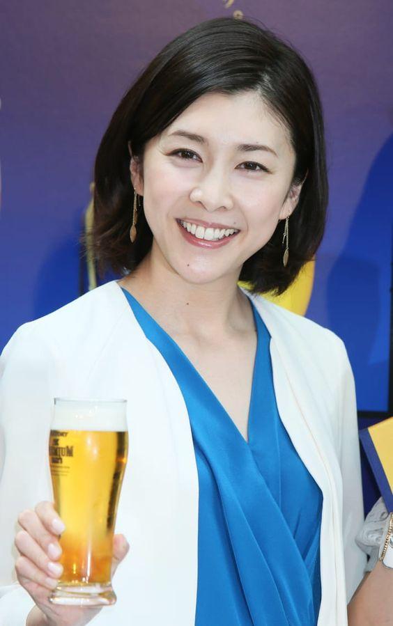 竹内結子のビール
