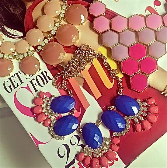 COLOR WONDER: Shop $20 necklaces, limited quantities @ www.popofchic.com