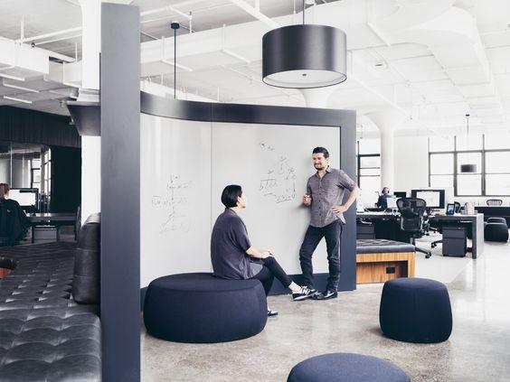 хай-тек в дизайне офиса