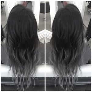 black grey balayage , Google Search