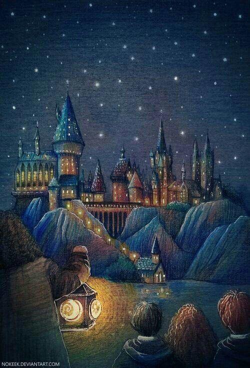 First Look At Hogwarts School Art By Nokeek Deviantart Art Deviantart Fantasy Hogwar Harry Potter Bildschirmhintergrund Fanart Harry Potter Hogwarts