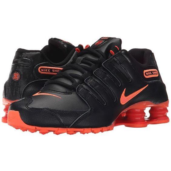 Nike Shox NZ (Black/Bright Crimson/Bright Mango) Women's Running Shoes (