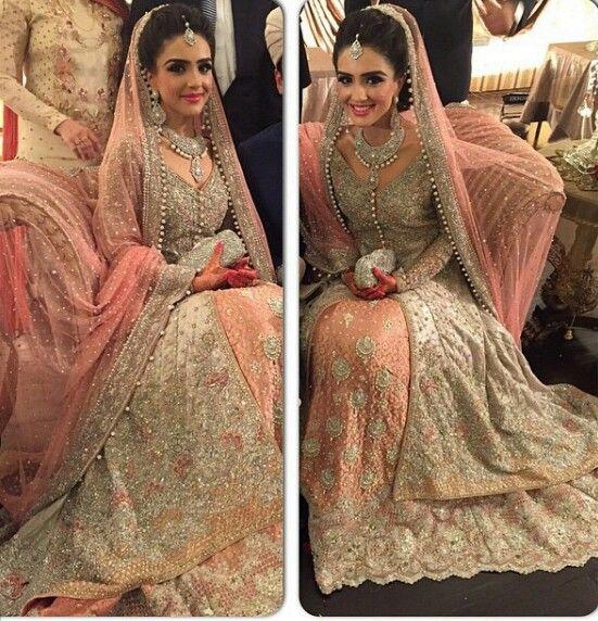 Pakistani Bridal Dress   Beautiful Look   Stunning Bride   Perfection