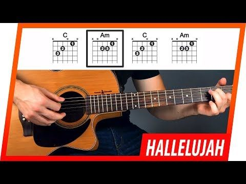 Hallelujah Jeff Buckley Guitar Tutorial Lesson For Beginners Youtube Guitar Songs For Beginners Guitar Lessons Songs Guitar Lessons Tutorials
