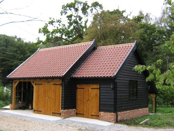 Pinterest the world s catalog of ideas for Weatherboard garage designs
