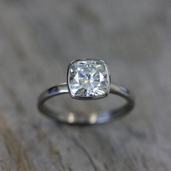 1000 ideas about modern engagement rings on