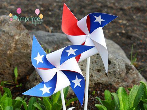 Imprime tu Fiesta: ¡¡Celebremos las Fiestas Patrias de Chile!!: