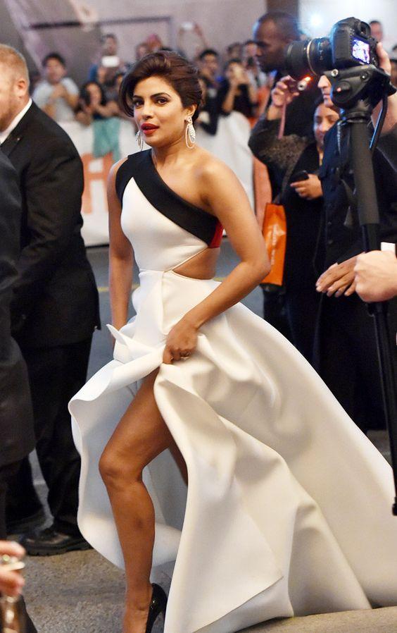 Priyanka Chopra from TIFF Red Carpet Round-Up: Opening Night | E! Online