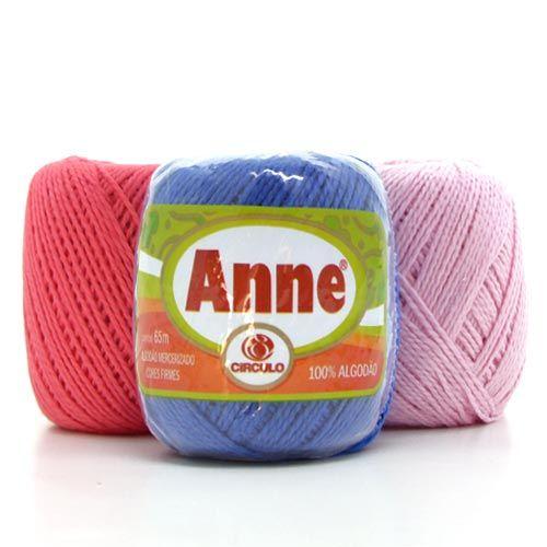 Linha Anne Em De 100 Lindas Cores Com O Menor Preco Bazar Horizonte Linha De Croche Anne Linha De Croche Circulos