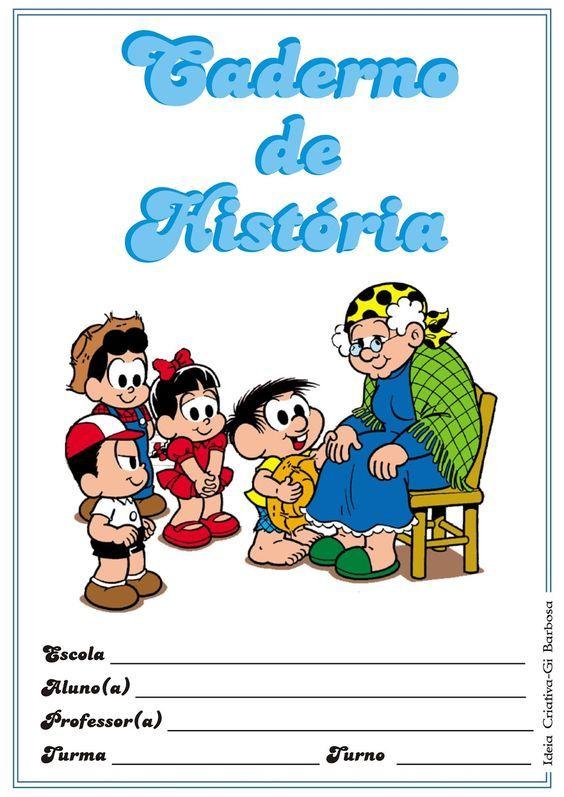 Capas Para Caderno Turma Da Monica Coloridas Turma Da Monica