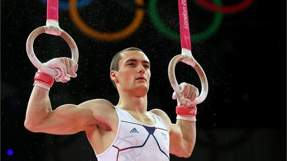 Cyril Tommasone of France competes on the rings in the Artistic Gymnastics Men's Individual All-Around final on Day 5 of the Games.