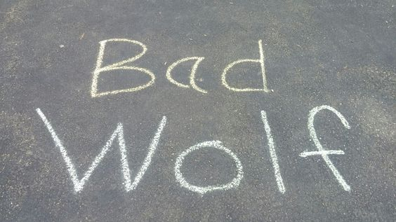 I am the Bad Wolf. I create myself. I take the words. I scatter them; in time and space. ( Rose Tyler, Doctor Who ) - Chris