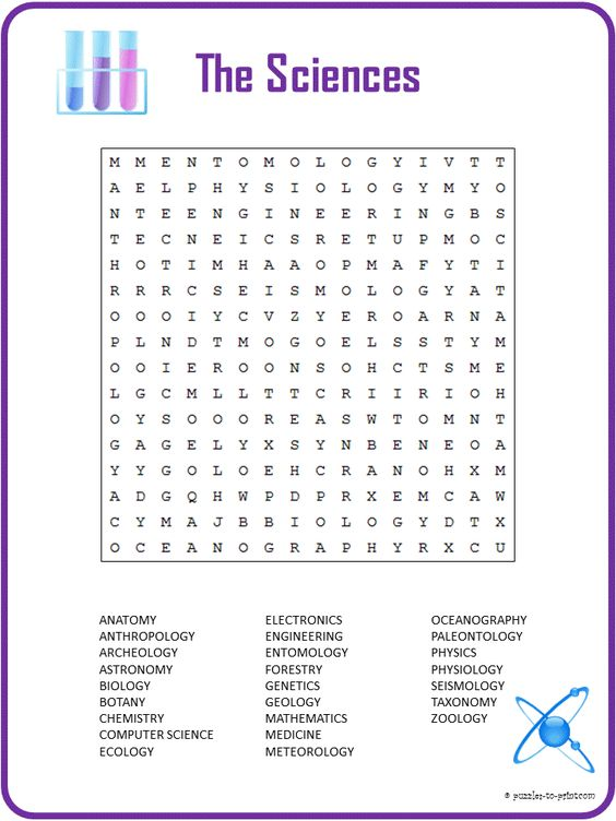 Worksheet Branches Of Science Worksheet follow me word search and plays on pinterest this printable science includes 27 words for the different branches of it