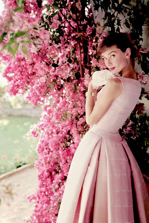 "vintagegal: ""Audrey Hepburn photographed by Norman Parkinson, 1955 "":"