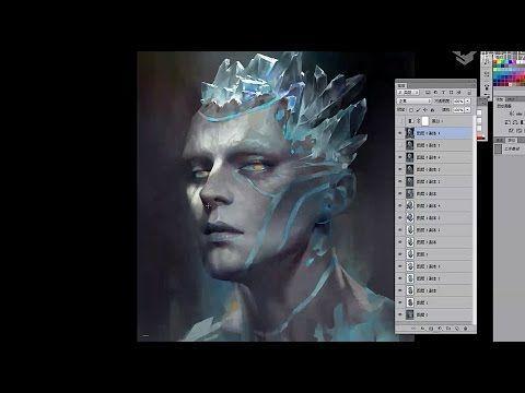 China Digital Painting - Avatar Draw 1 - Artist ZART - YouTube