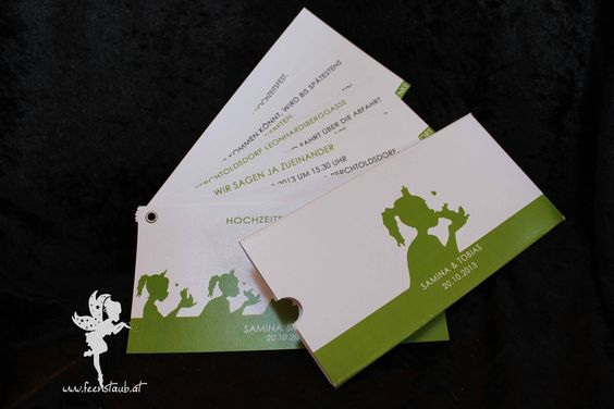 wedding fan invitation #weddinginvitation #weddingpapeterie #feenstaub #frogking #hochzeitseinladung