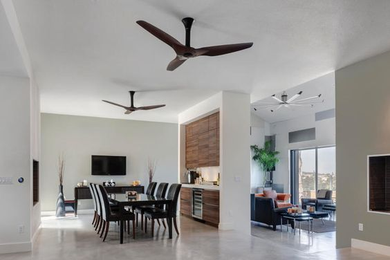 This Smart Ceiling Fan Links With Nest To Make Your AC More Cool